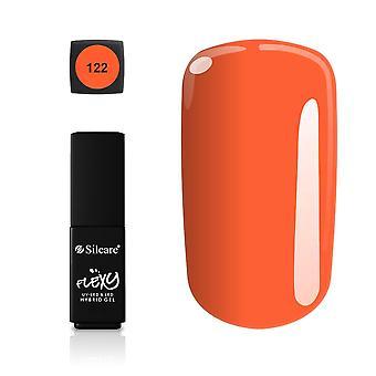 Silcare - Flexy - Hybrid gel - Farve: 122 - 4,5 gram