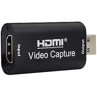 Wokex Mini-HDMI-Videoaufnahmekarte, Audio-Videoaufnahmekarten, 4K-HDMI-zu-USB-Videoaufnahmegerät,