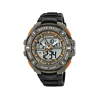 Calypso Watches Analog-Digital Watch Quartz Man with Plastic Strap K5769/1