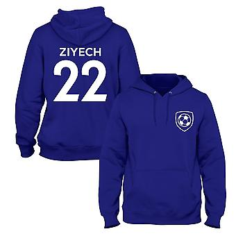 Hakim ziyech 22 club stijl speler voetbal hoodie