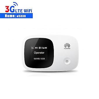 Olåst Huawei E5336 3g Router Mifi Wifi Router Mobile Hotspot Pocket Mini Modem| Trådlösa routrar