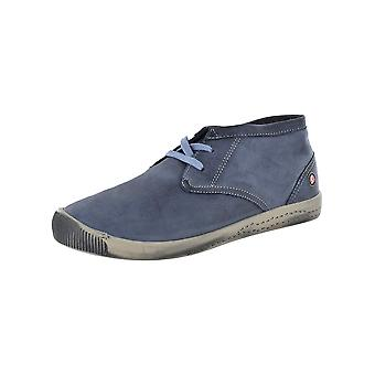 Softinos Womens Indira High Top Sneaker Shoes