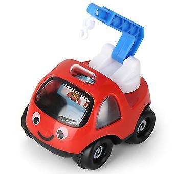 2Kpls 8.5 * 7 * 9cm vihreä lasten lelu auto inertia auto malli suunnittelu auto poika tyttö koulutus lelu lahja az18192