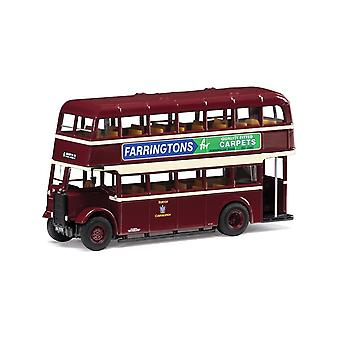 6 Anglesey Rd via Station & Uxbridge St Guy Utility Bus Burton Corporation 1:76 Corgi Model