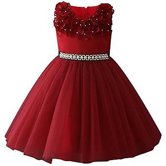 Acein infantil, vestido de baile glitz, vestido de concurso para conjunto de casamento-7