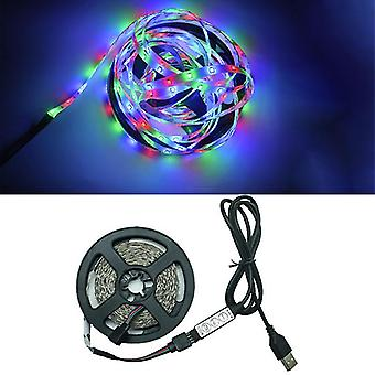 5M 3keys led lights flexible strip usb infrared control rgb smd2835 dc5v fa1235