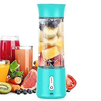 Portable Blender , Juicer Cup For Shakes(Blue)