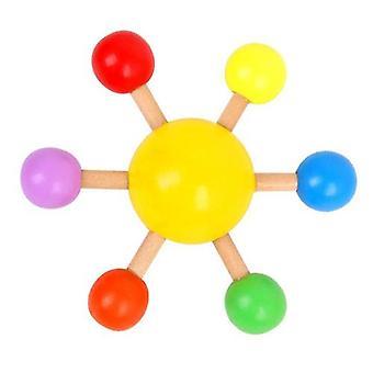الملونة الغزل أعلى ألعاب الأطفال التعليمية، متعة ألعاب إزالة الضغط على سطح المكتب