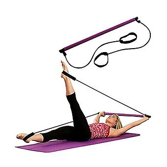 Yoga Pull Rope Fitness Equipment Pilates Bar Home Elastic Bar Muscle Relaxation Rally