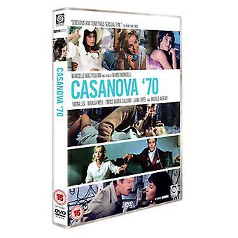 Casanova 70 DVD (2008) Marcello Mastroianni Monicelli (DIR) cert 15 Região 2