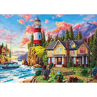 Educa Lighthouse and Cottage Iigsaw Puzzle (3000 Pieces)