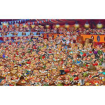 Piatnik Ruyer Bavarian Festival  Jigsaw Puzzle (1000 Pieces)