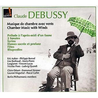 C. Debussy - Claude Debussy: Musique De Chambre Avec Öffnungen [CD] USA import