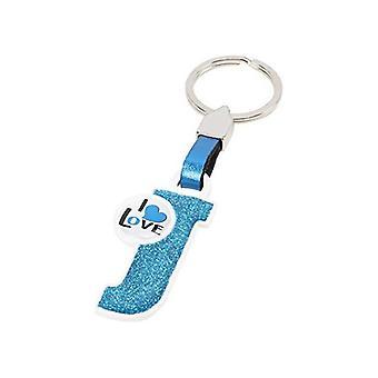 אות מחזיק מפתחות J