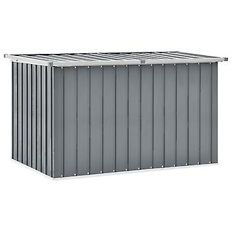 vidaXL gardenbox gris 149 x 99 x 93 cm