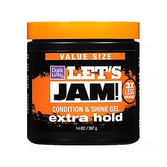 Softsheen-carson let's jam! shining and conditioning hair gel, extra hold, 14 oz