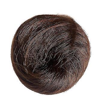 Bun Hair Chignon Synthetic Donut Roller Hairpieces High Temperature