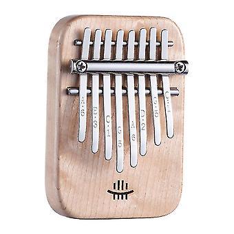كاليمبا الإبهام البيانو 8 مفاتيح مصغرة آلة موسيقية محمولة للأطفال