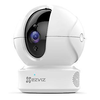 C6CN 1080P كاميرا مراقبة واي فاي متوافق مع اليكسا جوجل الرئيسية، 2.4GHz كاميرا IP داخلية مع الرؤية الليلية، ووضع الخصوصية، والصوت في اتجاهين، وتتبع الحركة الذكية (أبيض)