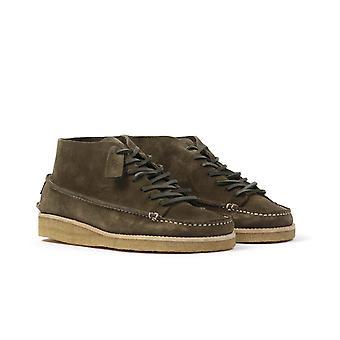 Yogi Footwear x Hikerdelic Derek Suede Chukka Boots - Olive