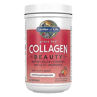 Collagen Beauty - Grass Fed, Cranberry Pomegranate - 270 grams