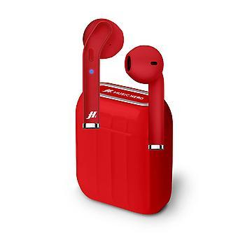 Bluetooth Headphones SBS Style 300 mAh Red