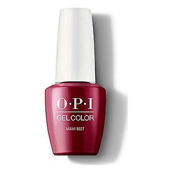 nail polish Miami Beet Opi Intense Ruby (15 ml)