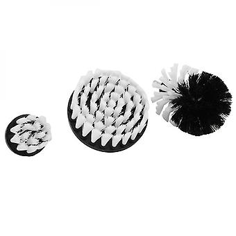 3pcs Drill Brush Set Power Scrubber Cleaning Accessories