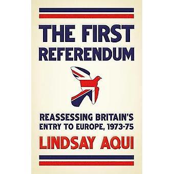 O primeiro referendo reavaliando a entrada da Grã-Bretanha na Europa 197375