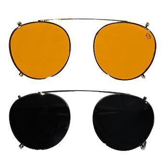Lennon Blue Light Glasses -  Everyday Lens (red)