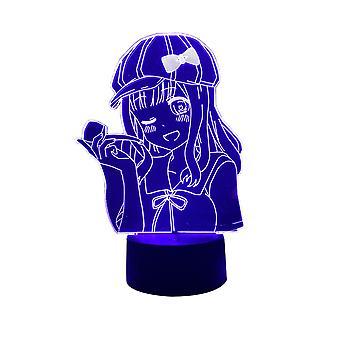 Anime Kaguya Sama Miłość jest wojna Chika Fujiwara postać led światło