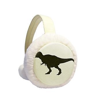 Dinosaur Curly Earmuffs