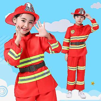 Parent-enfant Combinaison de lutte contre l'incendie Combinaison de performance Jeu de rôle professionnel