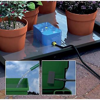 Automatisk vattning & utfodring lätt 2 gå Kit för trädgårdsväxter