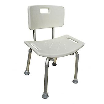 Aluminium Bath / Shower Seat / Chair with 8 Adjustable Heights 36cm – 53cm