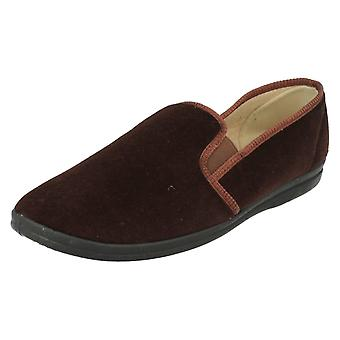Mens Grosby Full House Slippers