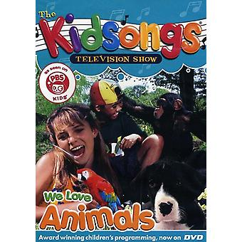Kidsongs - We Love Animals [DVD] USA import