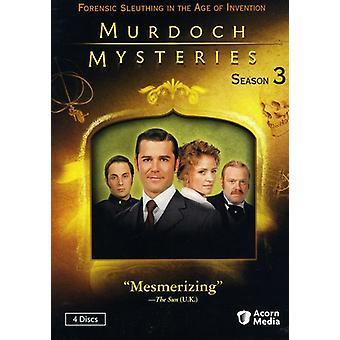 Murdoch Mysteries: Seizoen 3 [DVD] USA import