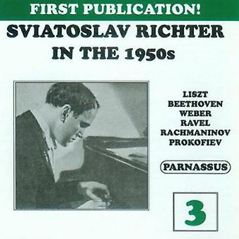 Sviatoslav Richter - Sviatoslav Richter in the 1950s, Vol. 3 [CD] USA import