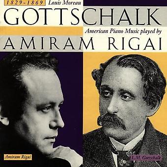 L.M. ゴットシャルク - ゴットシャルク: アメリカのピアノ音楽 【 CD 】 USA 輸入