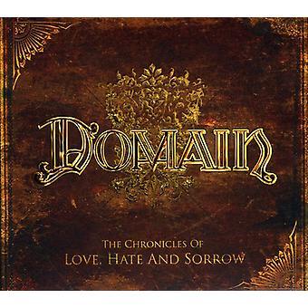 Domain - Chronicles of Love Hate & Sorrow [CD] USA import