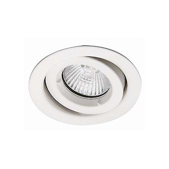 Ansell ICage Downlight regolabile Mini 50W GU10 Matt Bianco