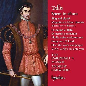 Tallis / Cardinall's Musick - Spem in Alium [CD] USA import