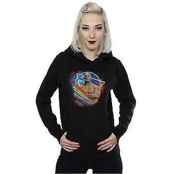 Marvel Women's Guardians Of The Galaxy Neon Drax Hoodie