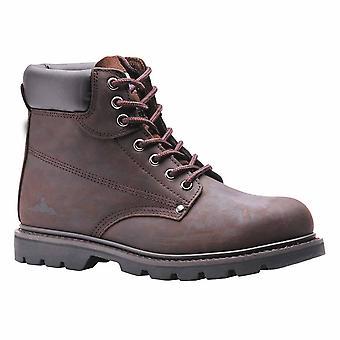 """سو-""""ستيليتي مجلود أعمال سلامة عمال الكاحل الحذاء SB الحكم"""""""