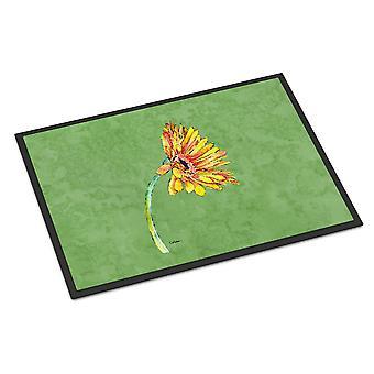 Carolines Treasures  8854JMAT Gerber Daisy Orange Indoor or Outdoor Mat 24x36 Do