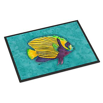 Carolines Treasures  8674MAT Fish  Tropical Indoor or Outdoor Mat 18x27 Doormat