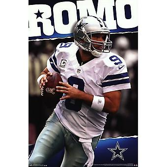 Cowboys de Dallas - Tony Romo 2013 affiche Poster Print