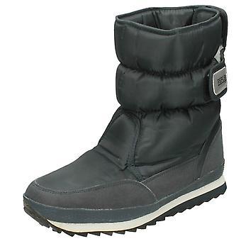 Reflexo de Mens velo alinhado A3015 botas de neve