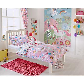 Riva Home Unicorn Childrens/Kids Duvet Set